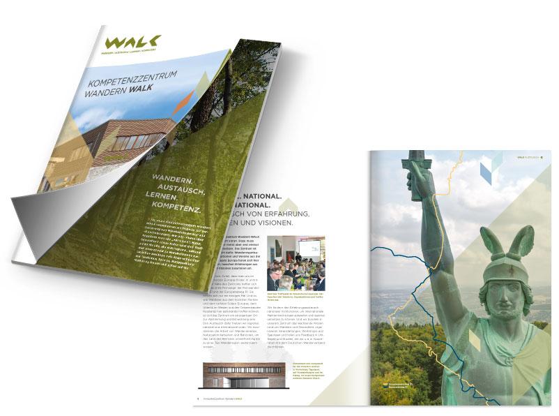 Broschüre Walk
