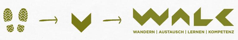 Walk Logo Entstehung