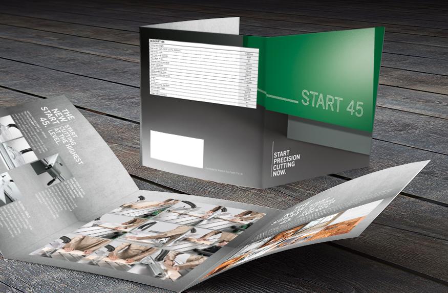 Start 45 Broschüre