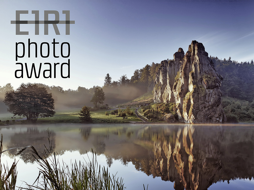 E1R1 Photo Award, Fotowettbewerb key visual